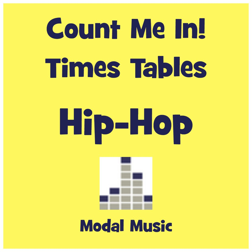 Count Me In Hip Hop Times Tables Logo - Music-Based Resource for Education